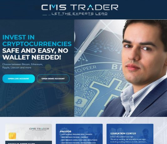 Trade Crypto currencies through CMSTrader.